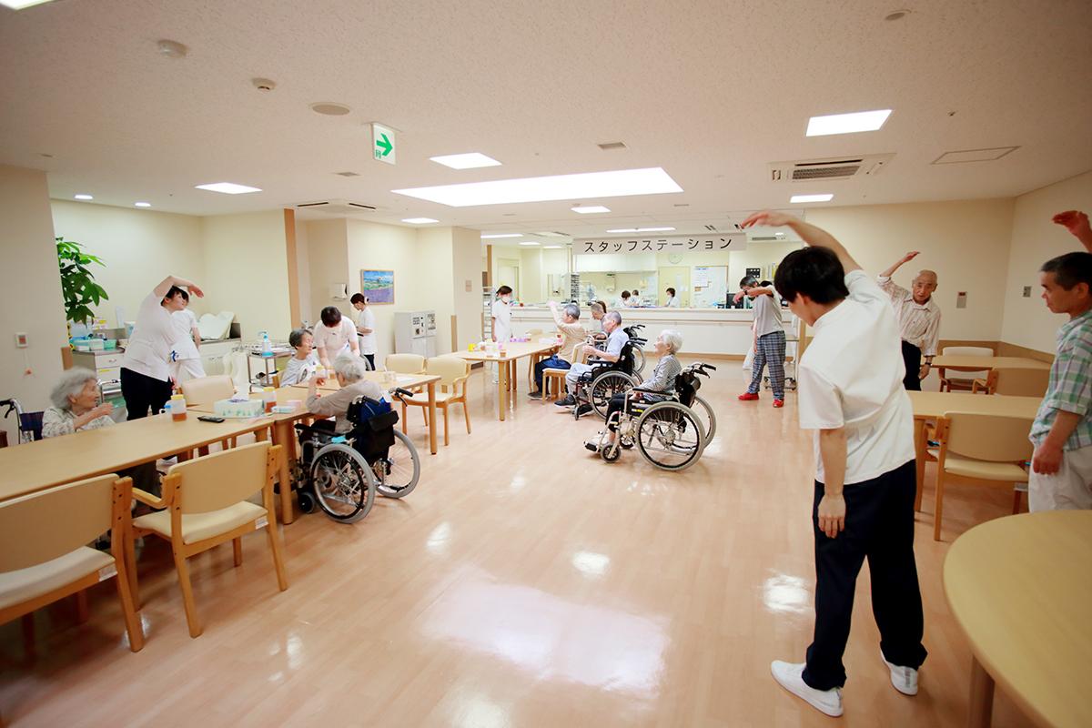 1F 回復期リハビリ病棟