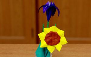 月ごとの折り紙の一例